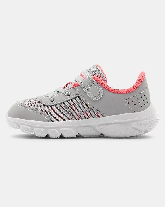 Girls' Infant UA Assert 8 Running Shoes, Gray, pdpMainDesktop image number 1
