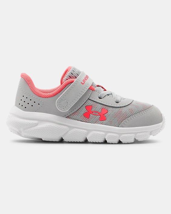 Girls' Infant UA Assert 8 Running Shoes, Gray, pdpMainDesktop image number 0