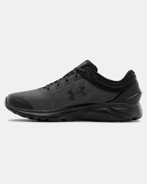 Men's UA Charged Escape 3 Evo Running Shoes, Black, pdpMainDesktop image number 1