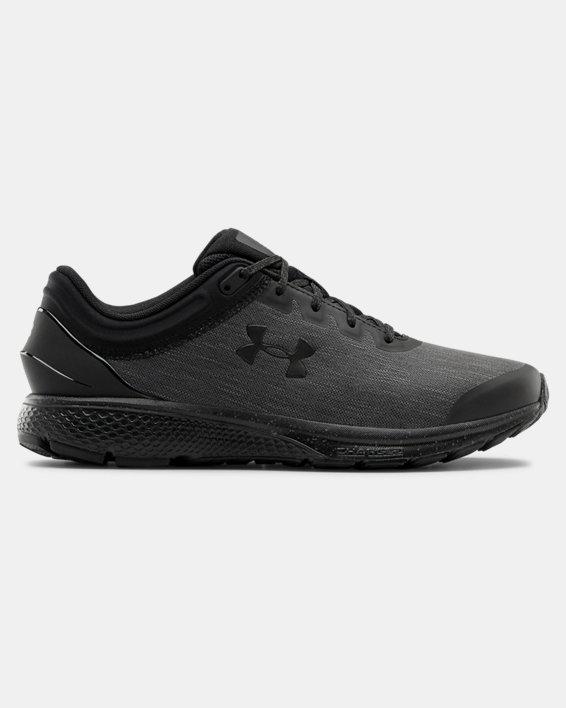 Men's UA Charged Escape 3 Evo Running Shoes, Black, pdpMainDesktop image number 0