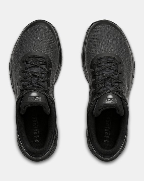Men's UA Charged Escape 3 Evo Running Shoes, Black, pdpMainDesktop image number 2