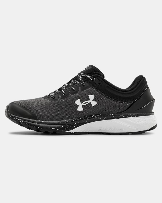 Women's UA Charged Escape 3 Evo Running Shoes, Black, pdpMainDesktop image number 1