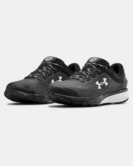 Women's UA Charged Escape 3 Evo Running Shoes, Black, pdpMainDesktop image number 3