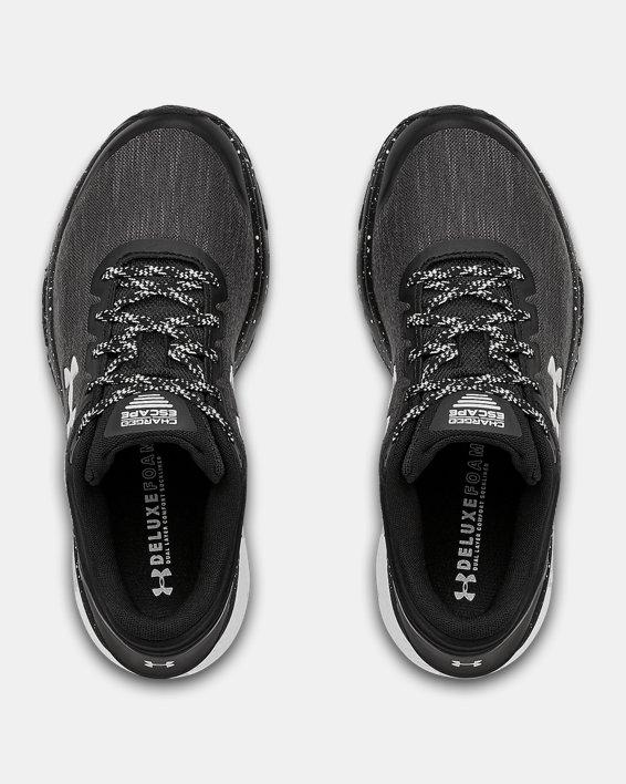 Women's UA Charged Escape 3 Evo Running Shoes, Black, pdpMainDesktop image number 2