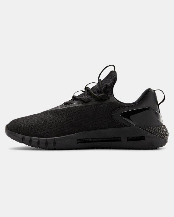 Unisex UA HOVR™ STRT LOGO Sportstyle Shoes, Black, pdpMainDesktop image number 1