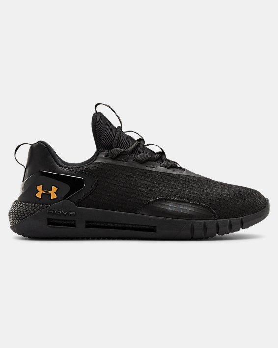 Unisex UA HOVR™ STRT LOGO Sportstyle Shoes, Black, pdpMainDesktop image number 0