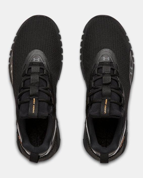 Unisex UA HOVR™ STRT LOGO Sportstyle Shoes, Black, pdpMainDesktop image number 2