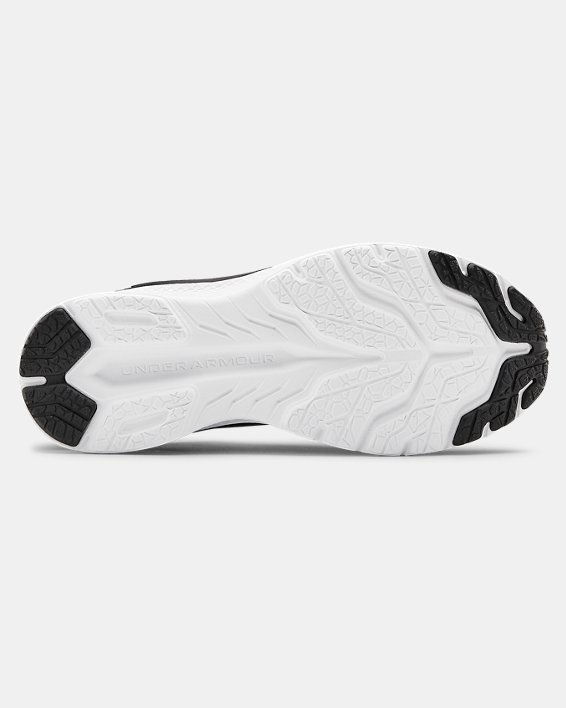 Boys' Grade School UA Charged Bandit 6 Running Shoes, Black, pdpMainDesktop image number 4