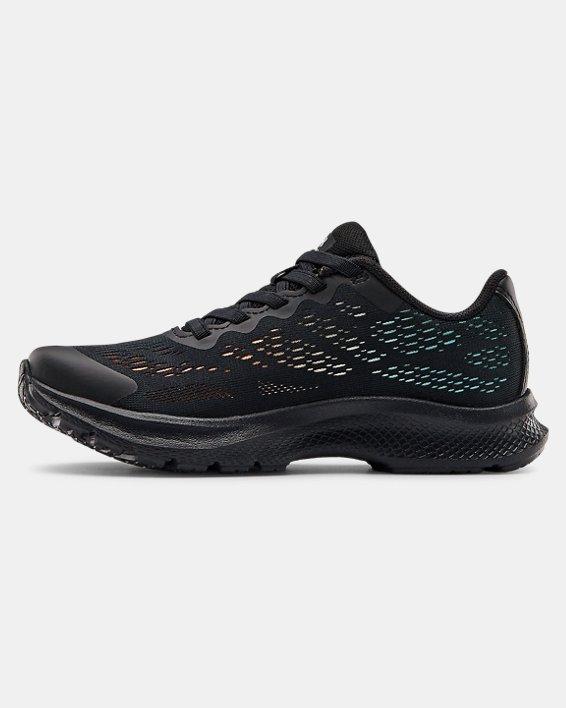 Boys' Pre-School UA Bandit 6 Running Shoes, Black, pdpMainDesktop image number 1