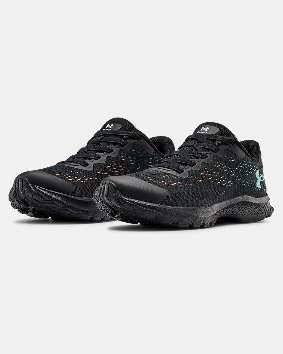 Boys' Pre-School UA Bandit 6 Running Shoes, Black, pdpMainDesktop image number 4