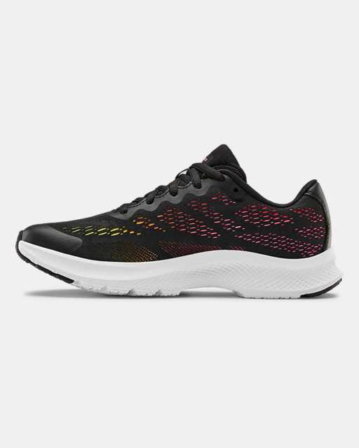 Girls' Grade School UA Charged Bandit 6 Running Shoes