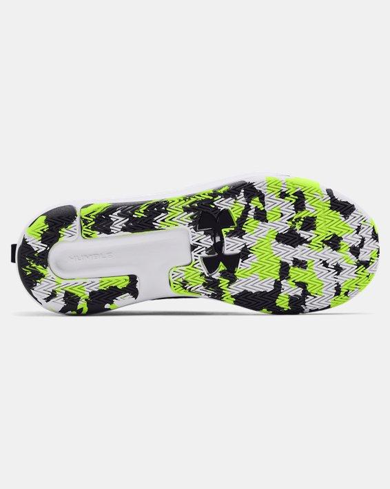 Adult UA Lockdown 5 Basketball Shoes, White, pdpMainDesktop image number 4
