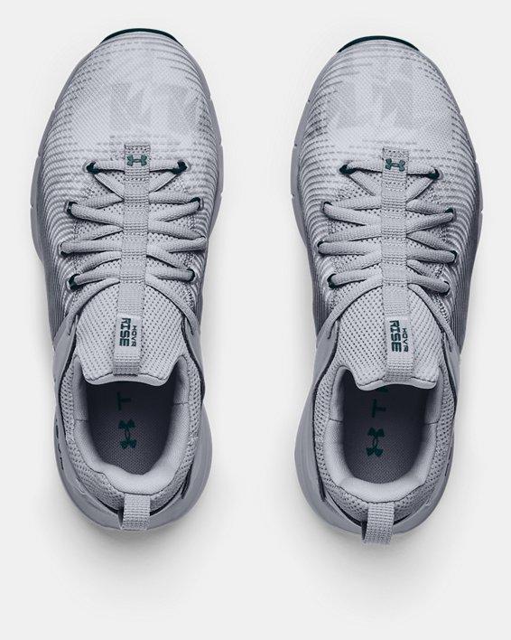 Women's UA HOVR™ Rise 2 Print Training Shoes, Gray, pdpMainDesktop image number 2