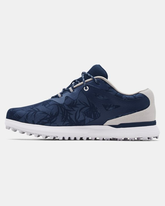 Women's UA Charged Breathe Spikeless TE Golf Shoes, Navy, pdpMainDesktop image number 1