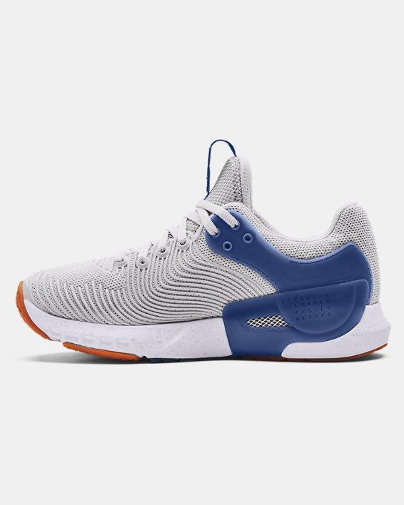 Women's UA HOVR™ Apex 2 Gloss Training Shoes, Gray, pdpMainDesktop image number 1