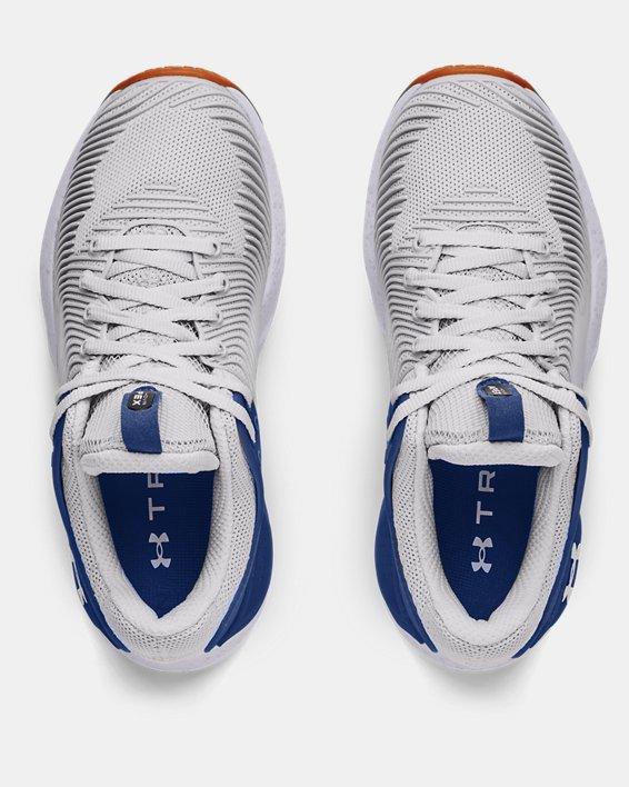 Women's UA HOVR™ Apex 2 Gloss Training Shoes, Gray, pdpMainDesktop image number 2