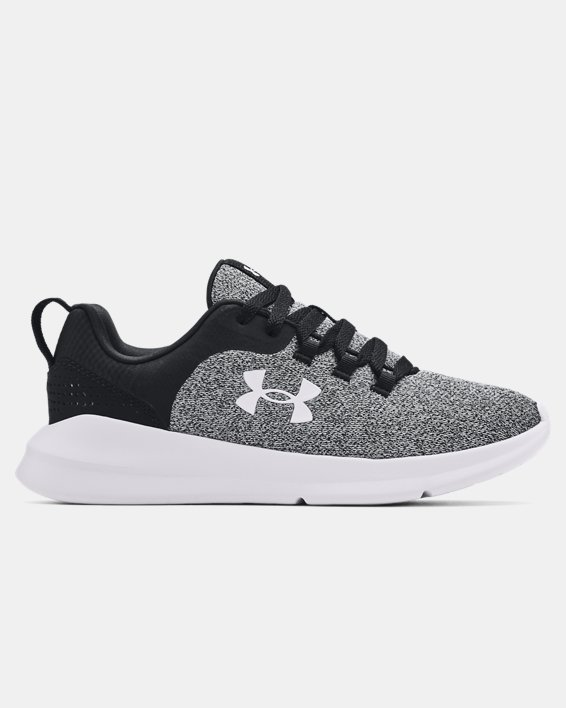 Women's UA Essential Sportstyle Shoes, Black, pdpMainDesktop image number 0