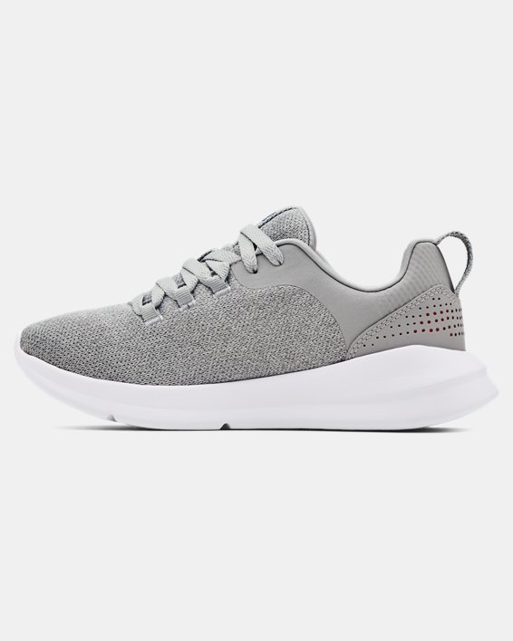 Women's UA Essential Sportstyle Shoes, Gray, pdpMainDesktop image number 1