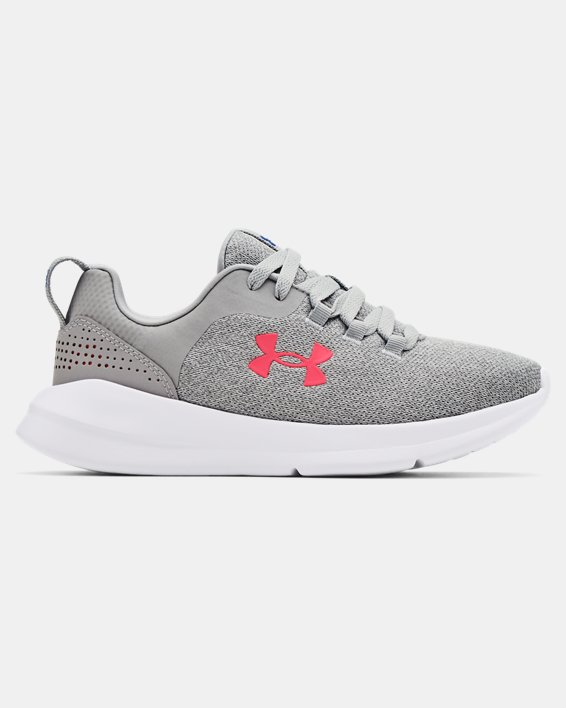 Women's UA Essential Sportstyle Shoes, Gray, pdpMainDesktop image number 0