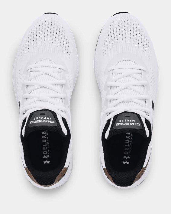 Men's UA Charged Impulse 2 Running Shoes, White, pdpMainDesktop image number 2