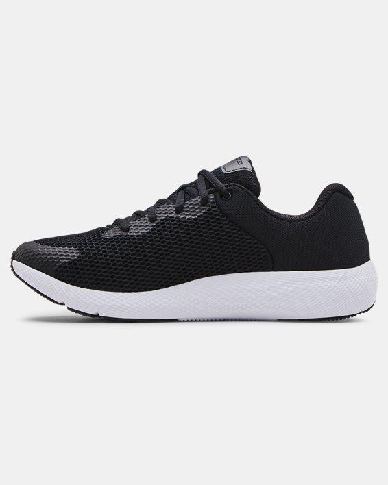 Men's UA Charged Pursuit 2 Big Logo Running Shoes, Black, pdpMainDesktop image number 1
