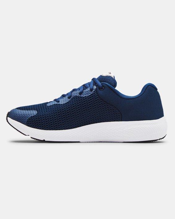 Men's UA Charged Pursuit 2 Big Logo Running Shoes, Navy, pdpMainDesktop image number 1