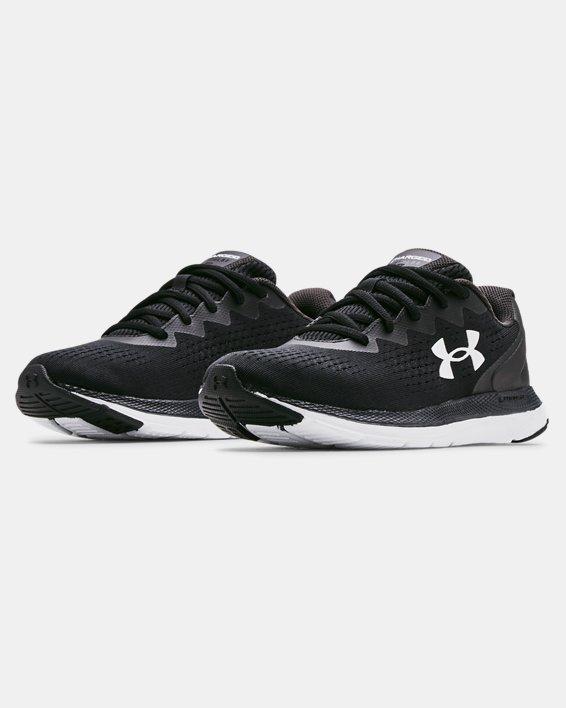 Women's UA Charged Impulse 2 Running Shoes, Black, pdpMainDesktop image number 3