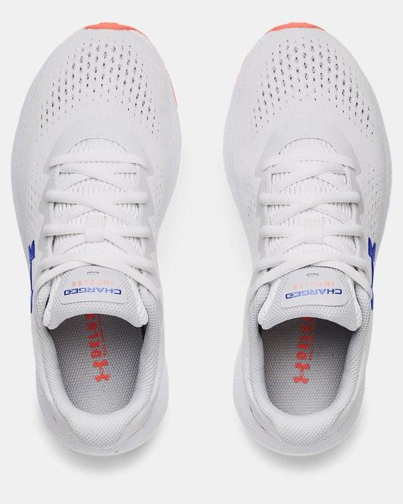 Women's UA Charged Impulse 2 Running Shoes, White, pdpMainDesktop image number 2