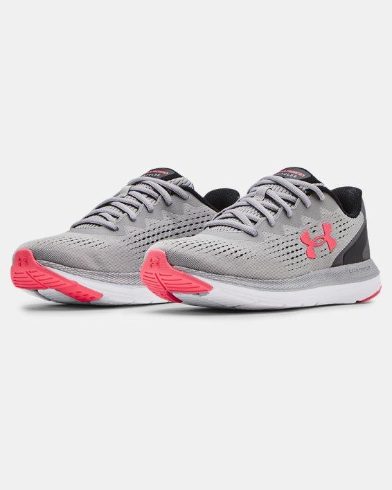 Women's UA Charged Impulse 2 Running Shoes, Gray, pdpMainDesktop image number 3