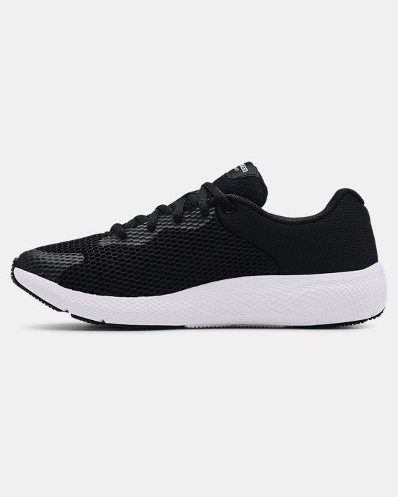 Women's UA Charged Pursuit 2 Big Logo Running Shoes, Black, pdpMainDesktop image number 1