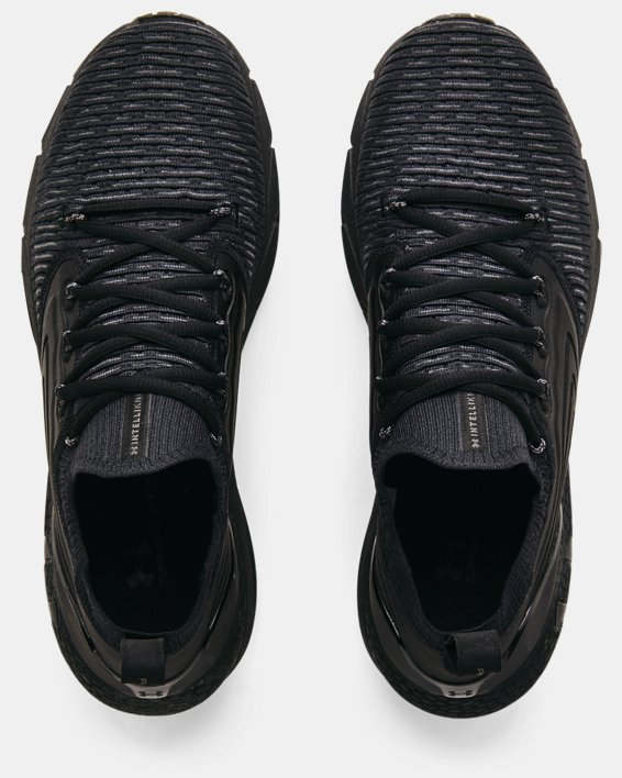 Men's UA HOVR™ Phantom 2 IntelliKnit Running Shoes, Black, pdpMainDesktop image number 2