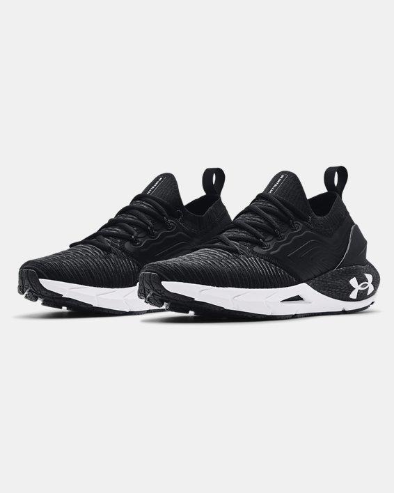 Men's UA HOVR™ Phantom 2 IntelliKnit Running Shoes, Black, pdpMainDesktop image number 3