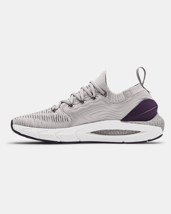 Men's UA HOVR™ Phantom 2 IntelliKnit Running Shoes, Gray, pdpMainDesktop image number 1