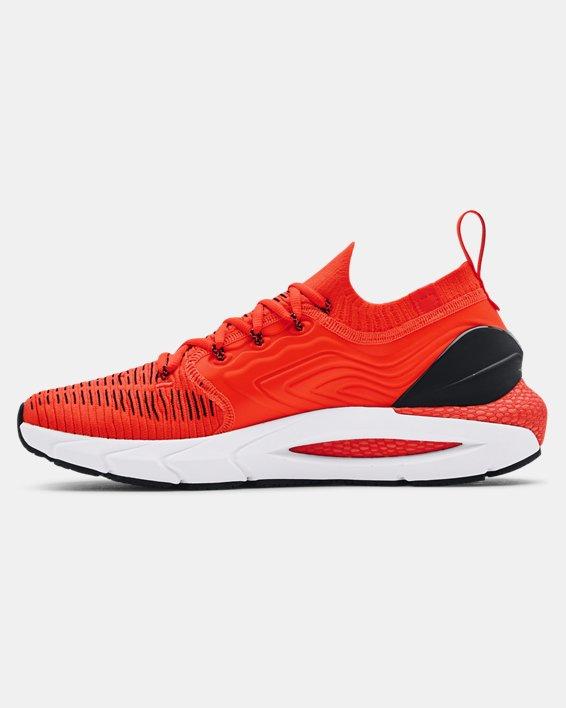 Men's UA HOVR™ Phantom 2 IntelliKnit Running Shoes, Orange, pdpMainDesktop image number 1
