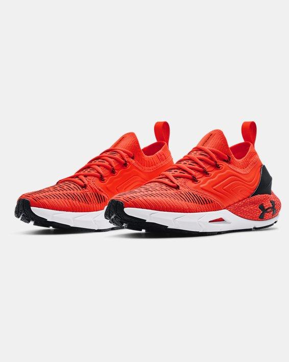 Men's UA HOVR™ Phantom 2 IntelliKnit Running Shoes, Orange, pdpMainDesktop image number 3