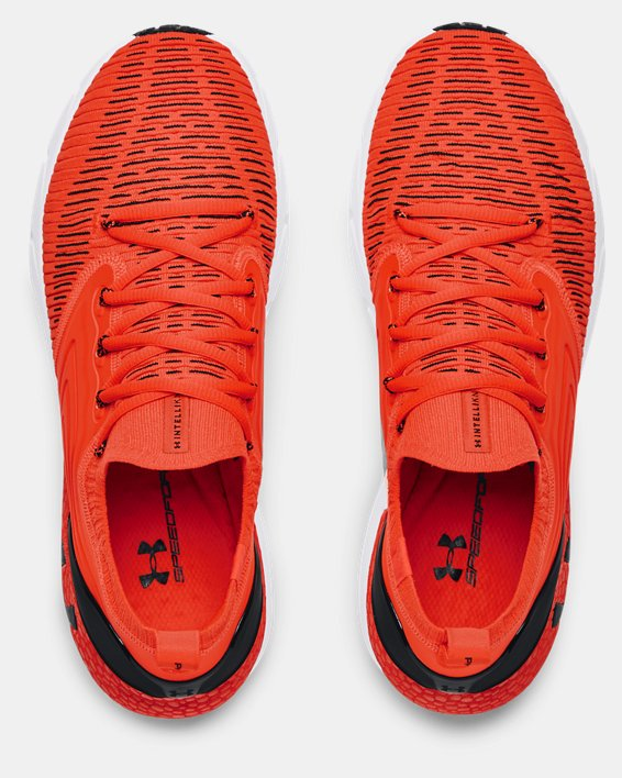 Men's UA HOVR™ Phantom 2 IntelliKnit Running Shoes, Orange, pdpMainDesktop image number 2