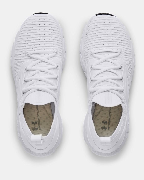 Women's UA HOVR™ Phantom 2 IntelliKnit Running Shoes, White, pdpMainDesktop image number 2