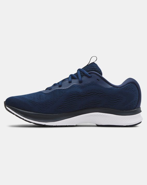 Men's UA Charged Bandit 7 Running Shoes, Navy, pdpMainDesktop image number 1