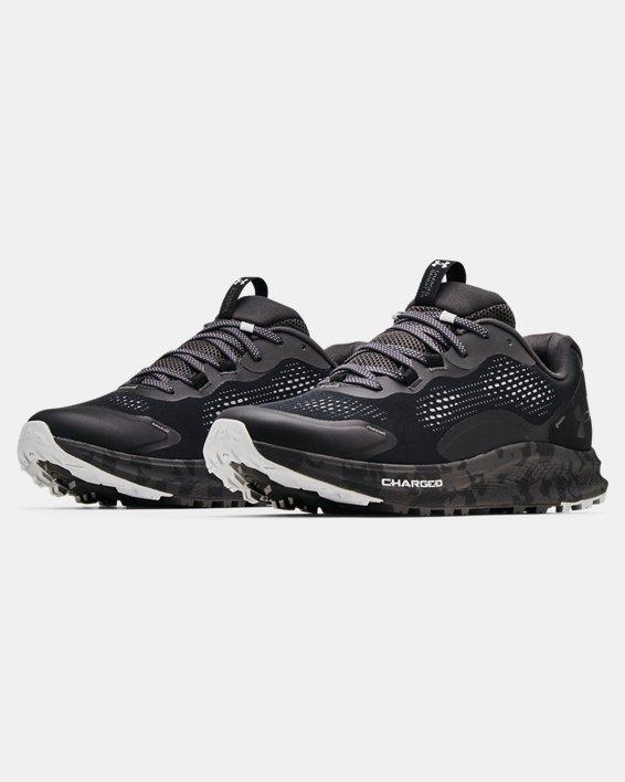 Men's UA Charged Bandit Trail 2 Running Shoes, Black, pdpMainDesktop image number 3