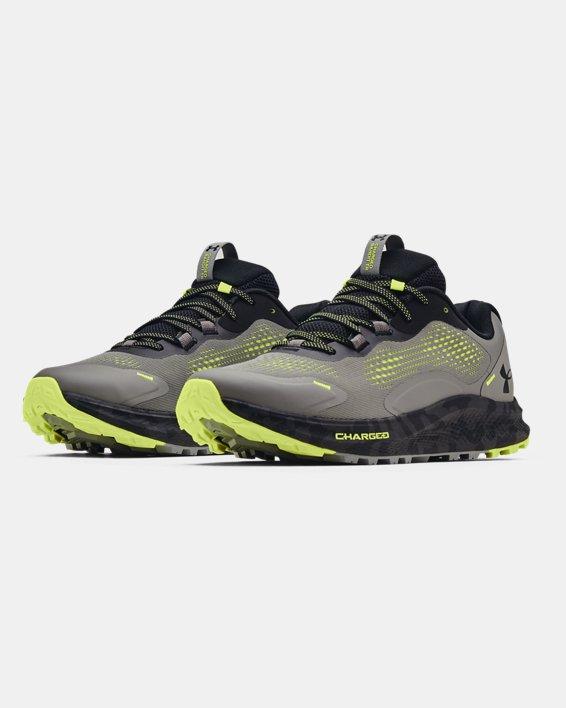 Men's UA Charged Bandit Trail 2 Running Shoes, Gray, pdpMainDesktop image number 3
