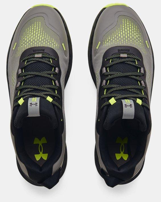 Men's UA Charged Bandit Trail 2 Running Shoes, Gray, pdpMainDesktop image number 2