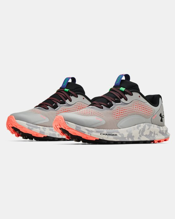 Women's UA Charged Bandit Trail 2 Running Shoes, Gray, pdpMainDesktop image number 3