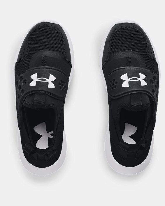Boys' Grade School UA Runplay Running Shoes, Black, pdpMainDesktop image number 2