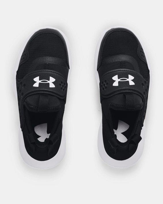 Boys' Pre-School UA Runplay Running Shoes, Black, pdpMainDesktop image number 2