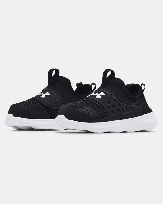 Boys' Infant UA Runplay Running Shoes, Black, pdpMainDesktop image number 3