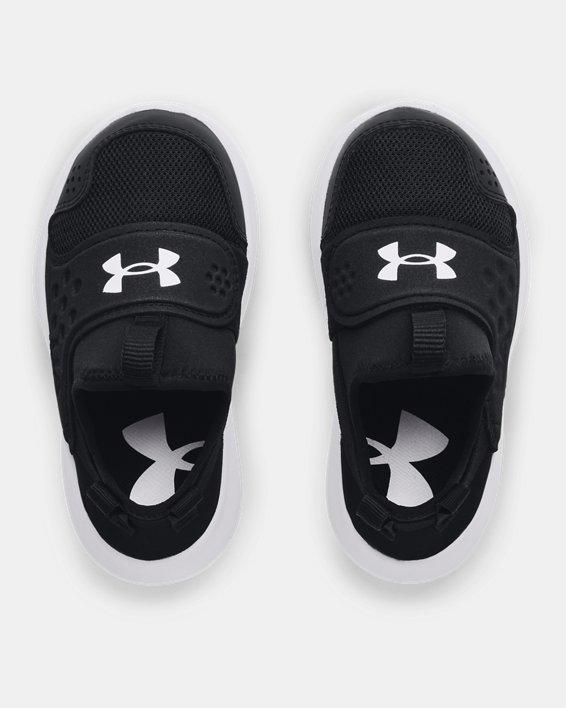 Boys' Infant UA Runplay Running Shoes, Black, pdpMainDesktop image number 2