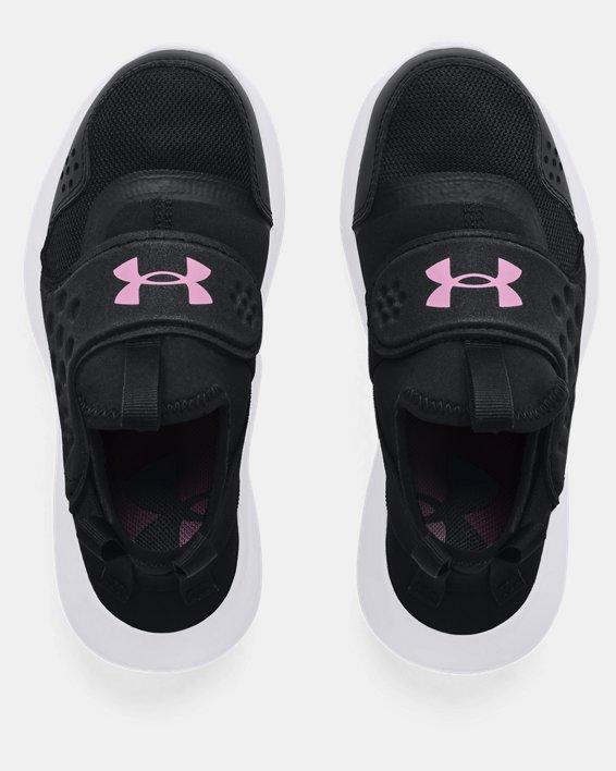 Girls' Pre-School UA Runplay Running Shoes, Black, pdpMainDesktop image number 2