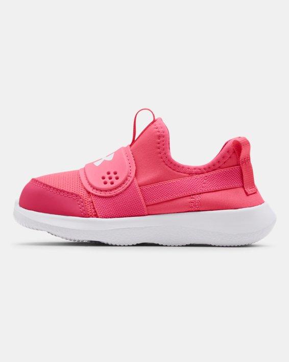 Girls' Infant UA Runplay Shoes, Pink, pdpMainDesktop image number 1