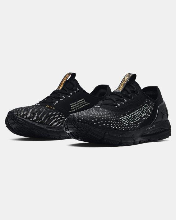Men's UA HOVR™ Sonic 4 Storm Running Shoes, Black, pdpMainDesktop image number 3