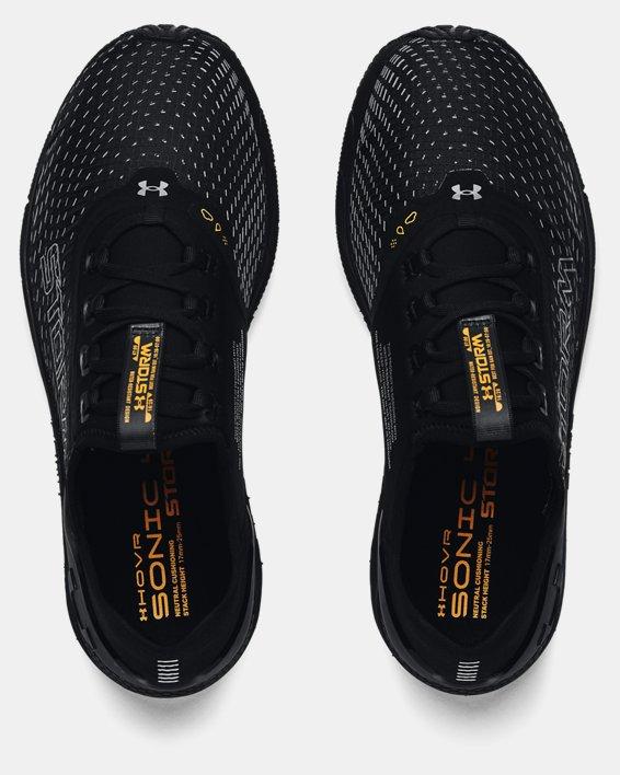 Men's UA HOVR™ Sonic 4 Storm Running Shoes, Black, pdpMainDesktop image number 2